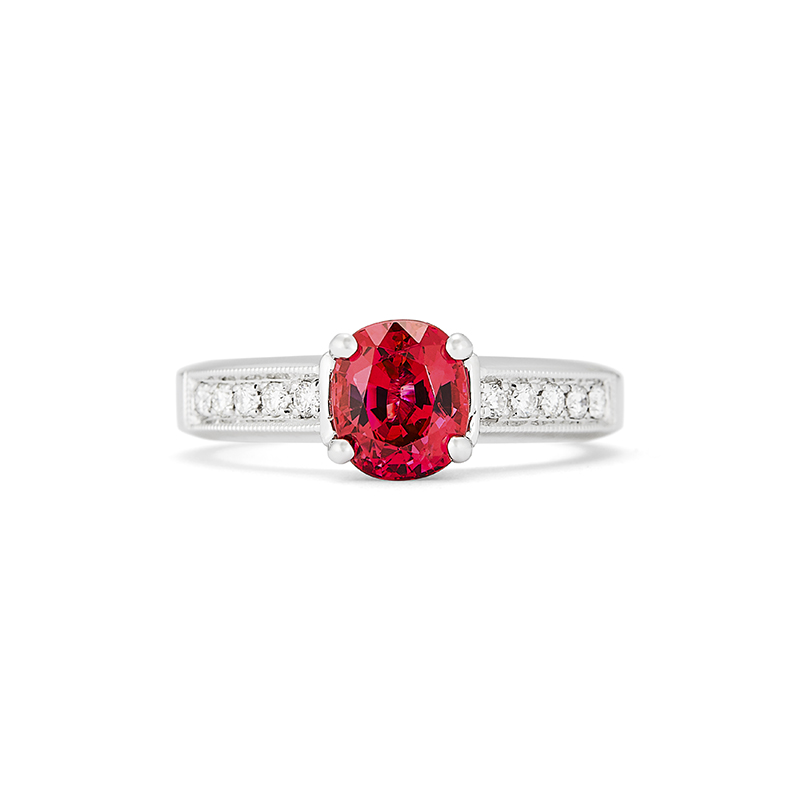 Burma Spinel Ring
