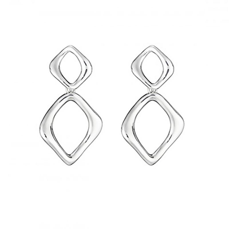 Wave Link Earrings