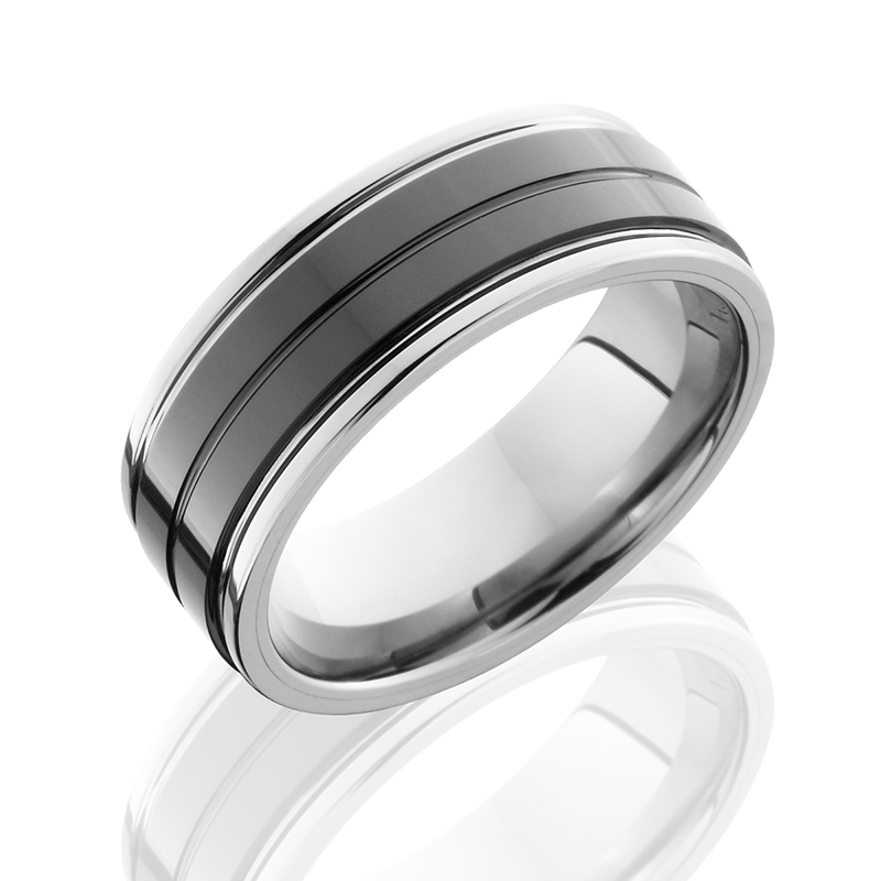 Tungsten & Ceramic Band
