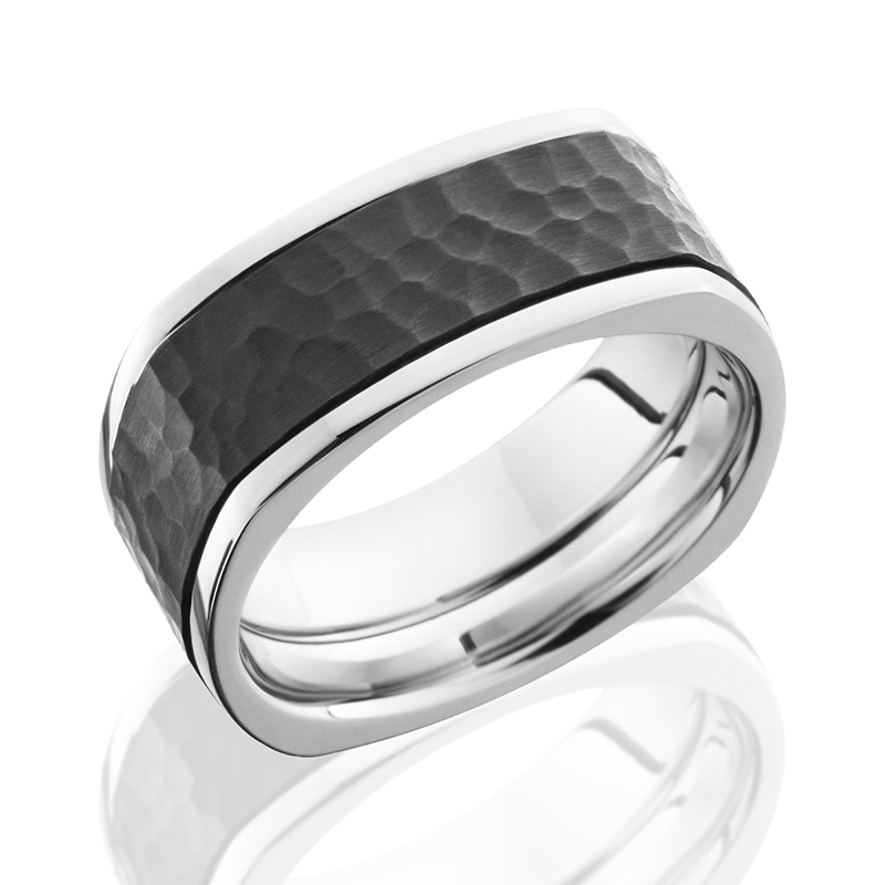 Chrome & Zirconium Squared Band