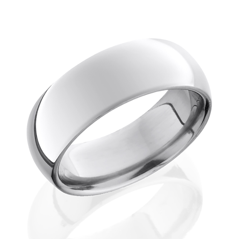 Titanium Domed Band